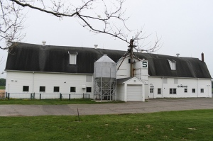 Cattle research Center, the growing place is in the back.